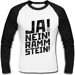 Футболка с длинным рукавом Rammstein - Ja! Nein! Rammstein!