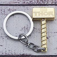 Брелок СГМТ 5007 Молот Тора (золото), фото 1