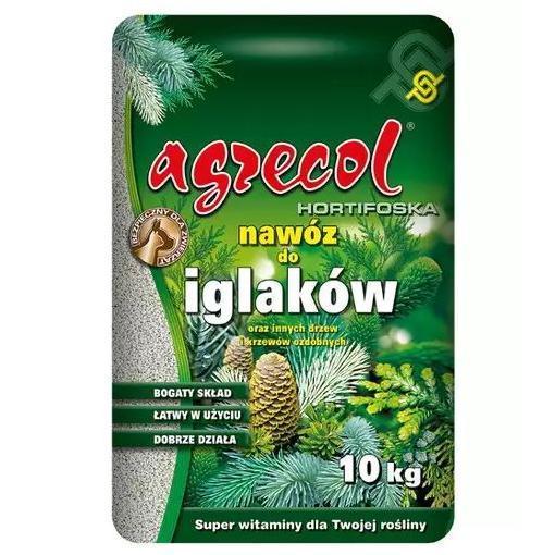 Удобрение 10-6-23 Агрекол для Хвойных растений (Hortifoska), 10 кг