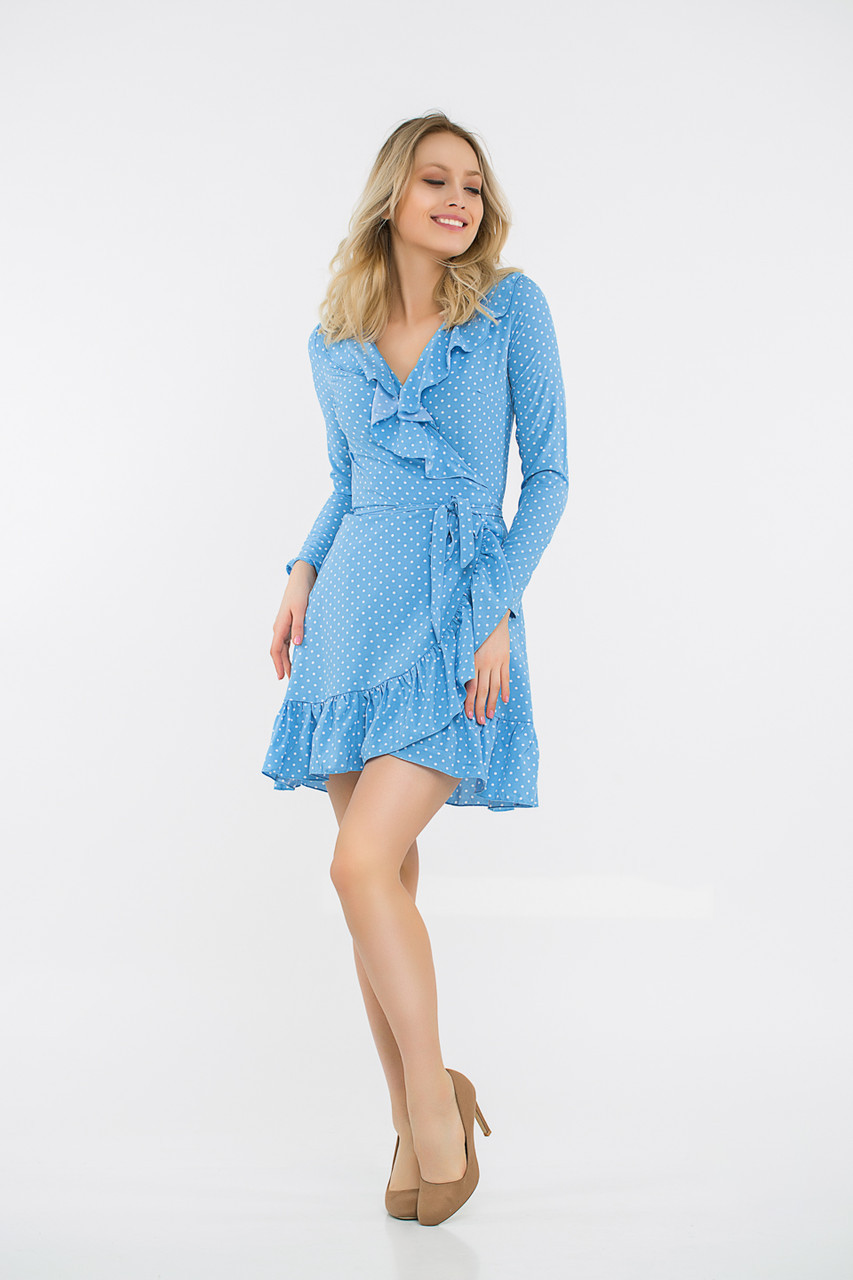 Платье LiLove 48-335 42-44 голубой
