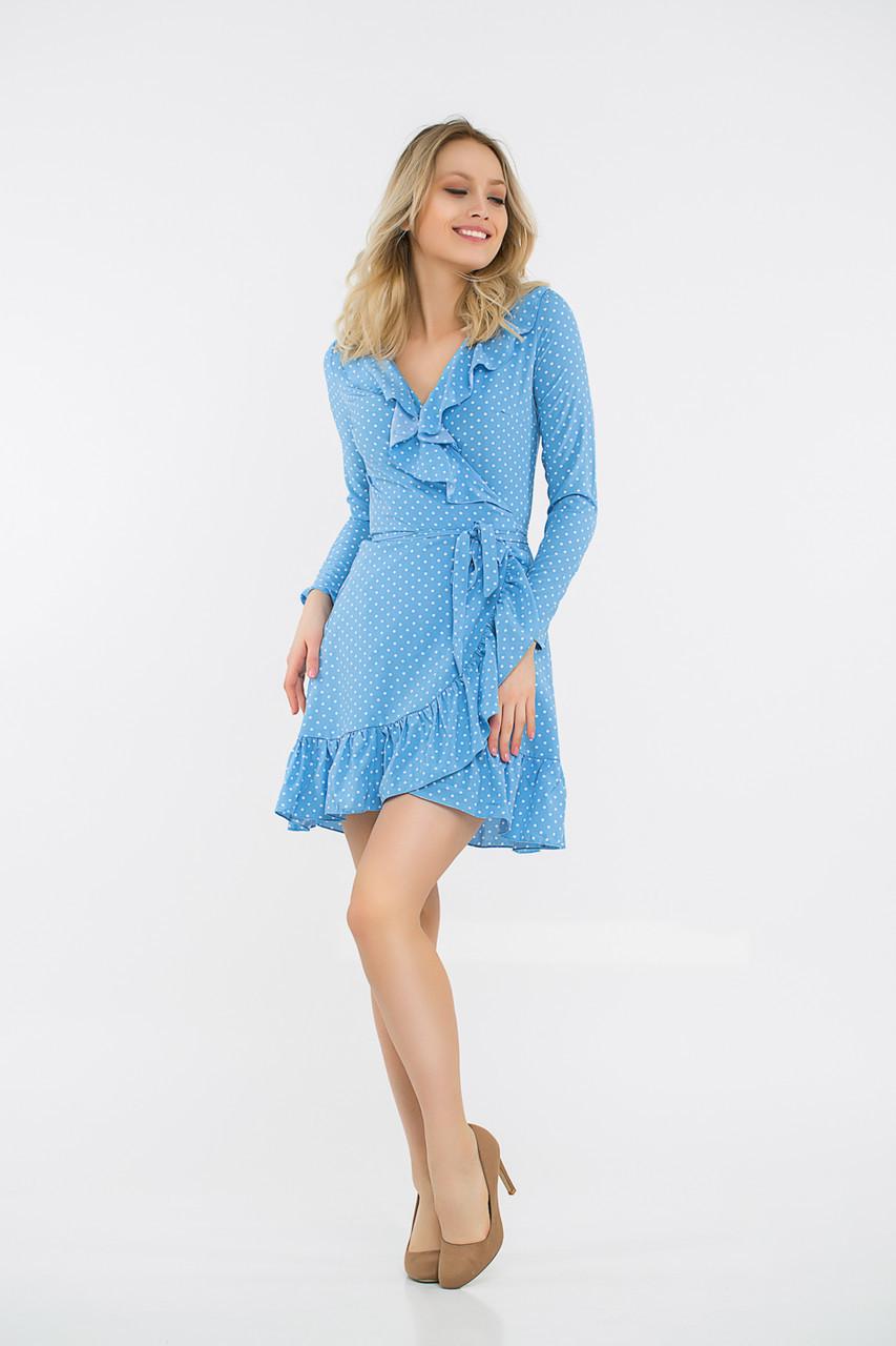 Платье LiLove 48-335 46-48 голубой