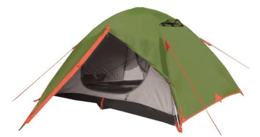 Намет Tramp Lite Erie 3. Палатка туристическая. Намет туристичний