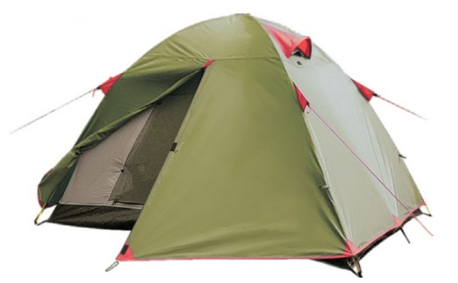Намет Tramp Lite Tourist 2. Палатка туристическая. Намет туристичний