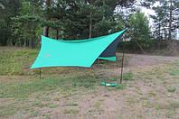 Тент Tramp Lite 440 x 440 см зелений. Тент туристический. Тент кемпинговый