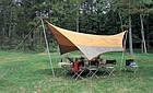 Тент Tramp Lite 440 x 440 см оранжевый TLT-011. Тент туристический. тент кемпинговый, фото 4