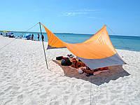 Тент Tramp Lite 440 x 440 см оранжевий. Тент туристический. Тент кемпинговый
