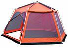 Шатер TrampПалатки шатры Mosquito (зелений, синій). Беседка тент шатер для дачи. Палатки шатры разборные, фото 5
