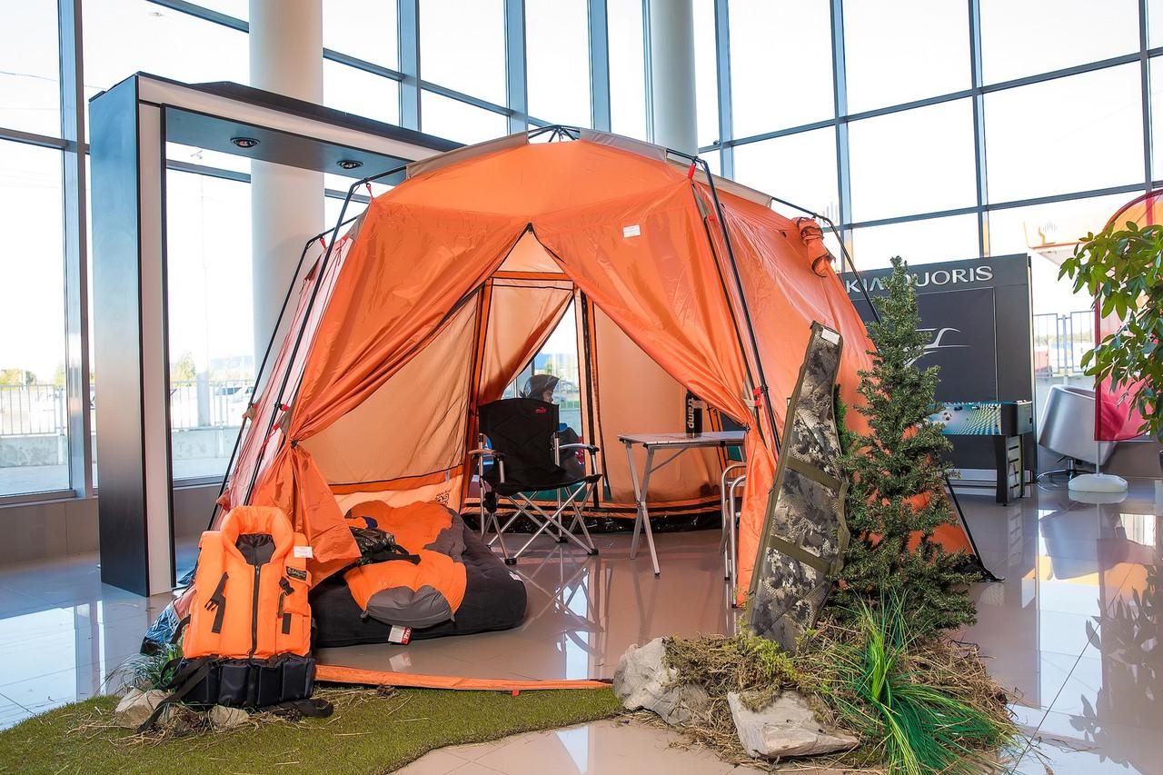 Шатер TrampПалатки шатры Mosquito (зелений, синій). Беседка тент шатер для дачи. Палатки шатры разборные