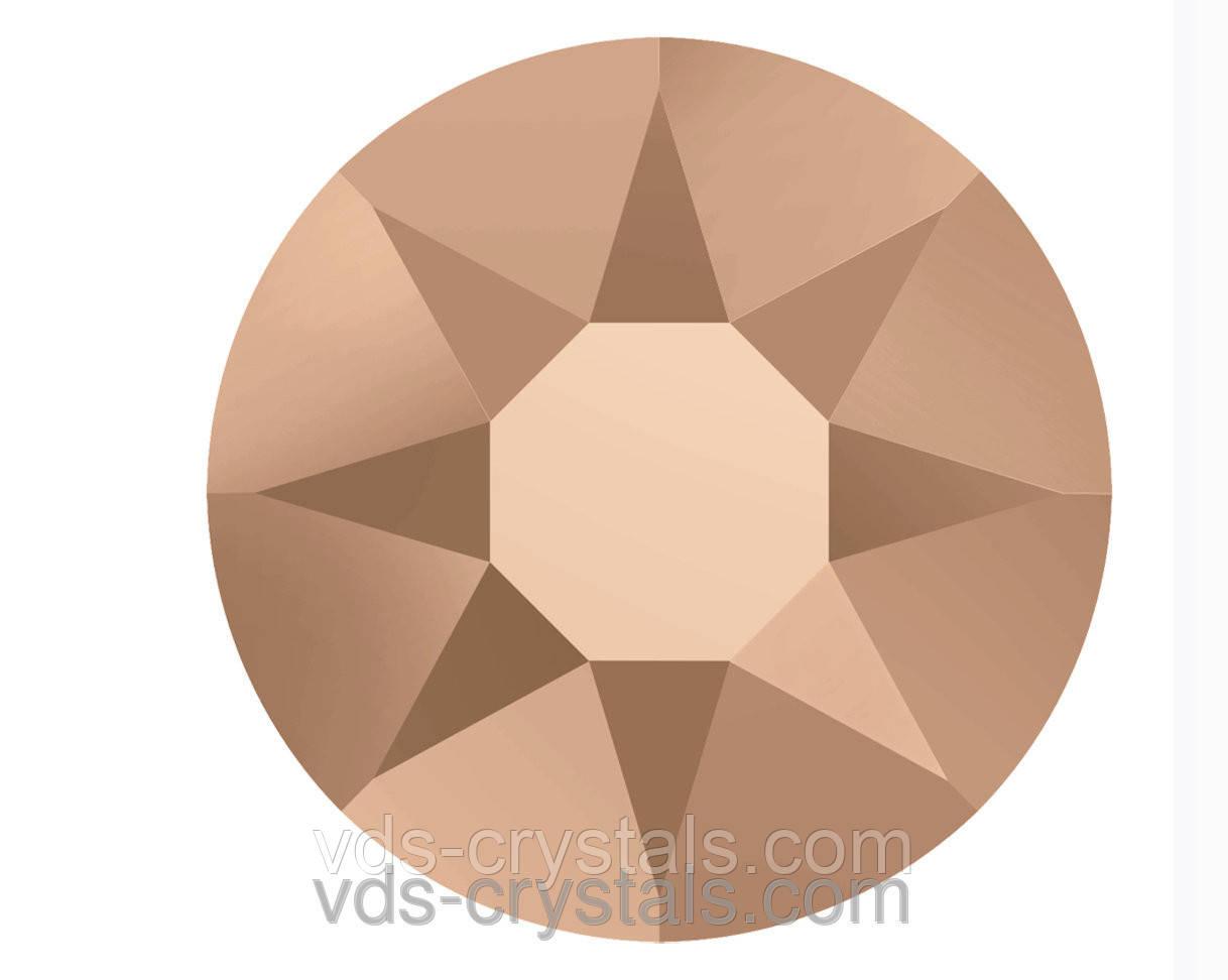 Стразы Сваровски клеевые холодной фиксации 2088 Crystal Rose Gold F 12ss (упаковка 1440 шт)