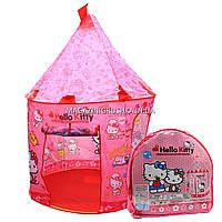 Детская игровая палатка домик «Замок Китти» SG70033HK. Ребенок сможет комфортно играть в палатке., фото 1