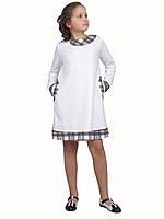 Платье  детское с длинным рукавом   М -942  рост 98 104 110 116 122 128  146 и 152 трикотажное, фото 1