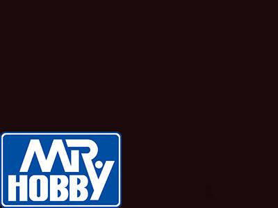 Сажа, краска для сборных моделей 10мл. MR. HOBBY H343, фото 2