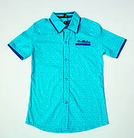 Рубашка-шведка  для мальчика рост 110-122 см, фото 1