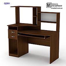 Стол компьютерный с надстройкой Комфорт-4, фото 3