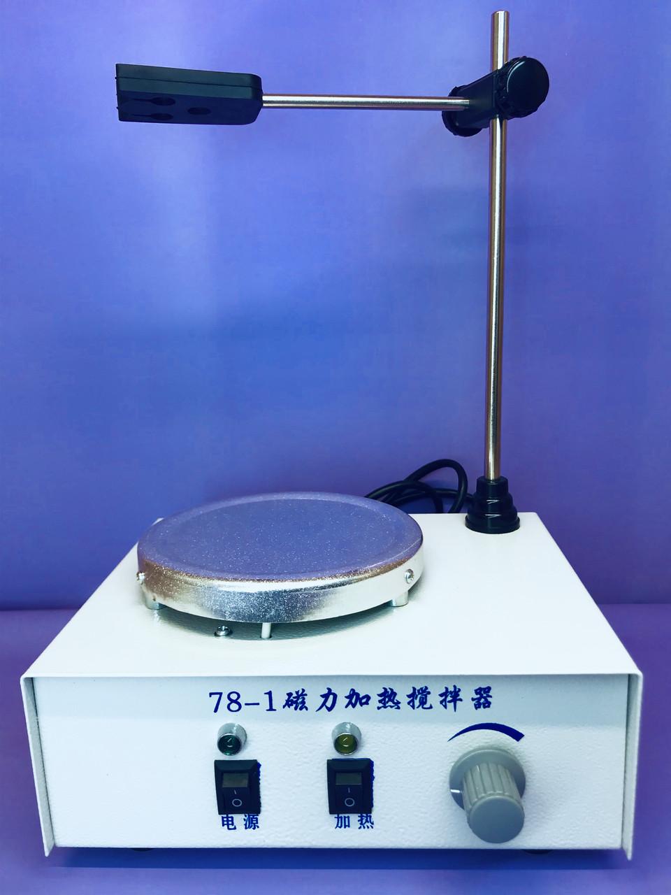 Магнитная мешалка с подогревом