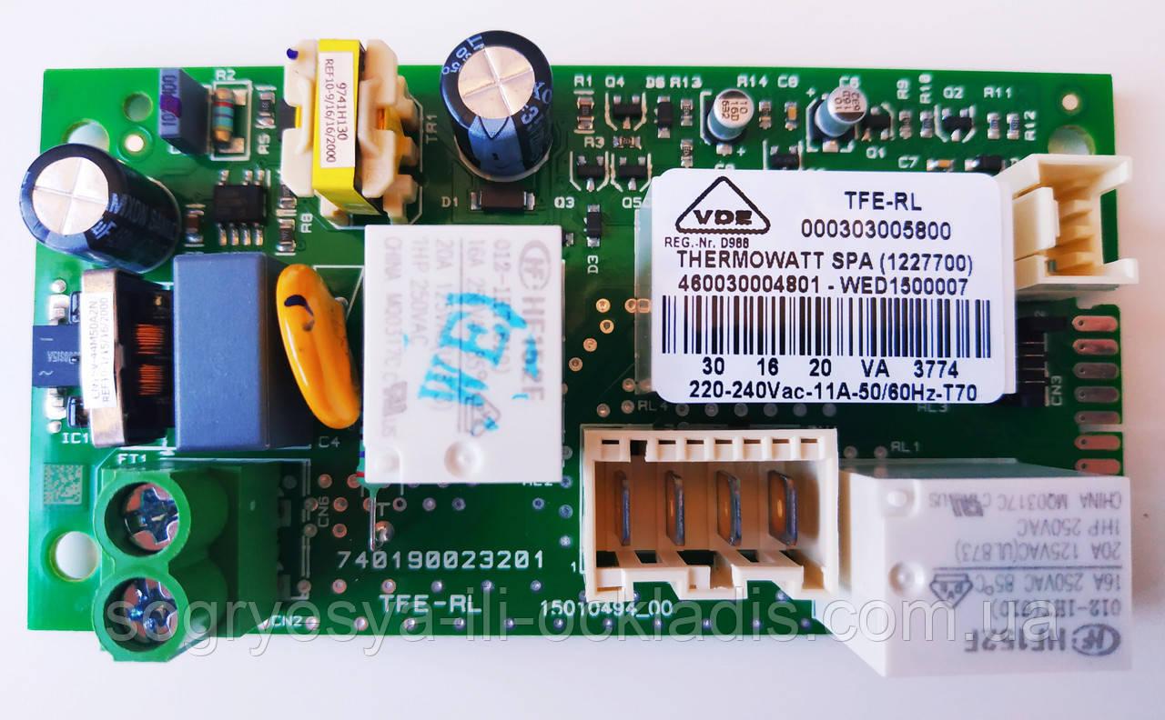 Плата основная на бойлер Ariston ABS VLS EVO PW арт 65152900 оригинал (пр-во Италия) код товара: 7091