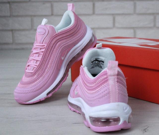 Nike Air Max 97 White Red Flame Pink
