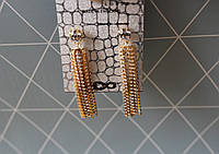 Сережки-підвіски, серьги-подвески с кристаллами swarovski от krystal london asos