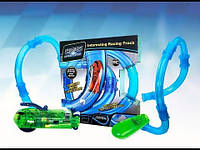 Трубопроводные гонки Chariots Speed Pipes 27 деталей, пульт, гоночная машинка | Гоночная трасса