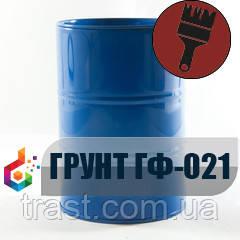 Грунтовка ГФ-021 антикоррозийная Красно-коричневая