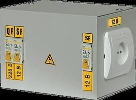 Ящик с понижающим трансформатором ЯТП-0,25 220/42-2 36 УХЛ4 IP30 IEK (MTT12-042-0250)