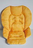 Чехол Chicco Polly 2 в 1 сердечки на желтом