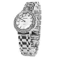 ☜Часы BAOSAILI BSL1029 Silver женские модные с стальным браслетом камнями новинка кварцевый механизм
