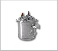 Автоклав А 16 электро ( 7 банок- 1л 16 банок-0,5 л) из нержавеющей стали, фото 1