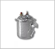 Автоклав А 16 электро ( 7 банок- 1л 16 банок-0,5 л) из нержавеющей стали