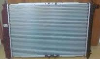 Радиатор Chevrolet Aveo 1.6 600*430 с 2002г AKП круглые соты
