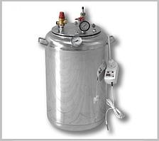 Автоклав А 24 электро ( 8 банок- 1л 24 банок-0,5 л) из нержавеющей стали