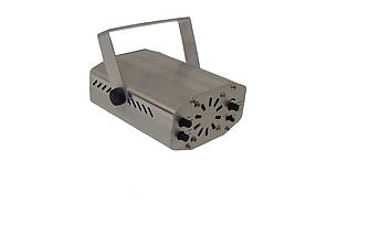 Лазерный проектор мини стробоскоп MHZ YX09A HJ09 2481