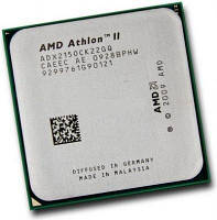 Процессор AMD Athlon II X2 215 (ADX215ОСК) 2,7 GHz/2core/ 2Mb/65W/ 4000MHz Socket AM2+/АМ3, фото 1