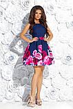 Очень красивое вечернее платье с цветным принтом 42,44,46р, фото 2