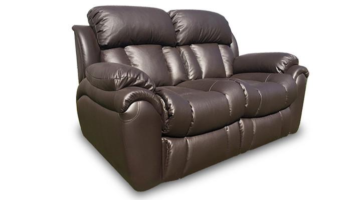 """Кожаный двухместный диван с реклайнером """"Бостон"""""""