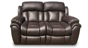 """Кожаный двухместный диван с реклайнером """"Бостон"""", фото 3"""