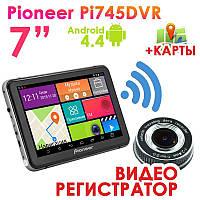 Новинка! GPS навигатор Pioneer Pi 745 DVR + AV
