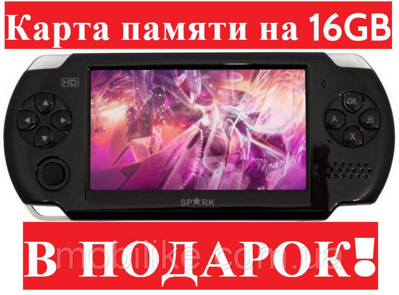 Игровая консоль DVTech Spark (Копия PSP) 4GB 500 ИГР + ПОДАРОК!