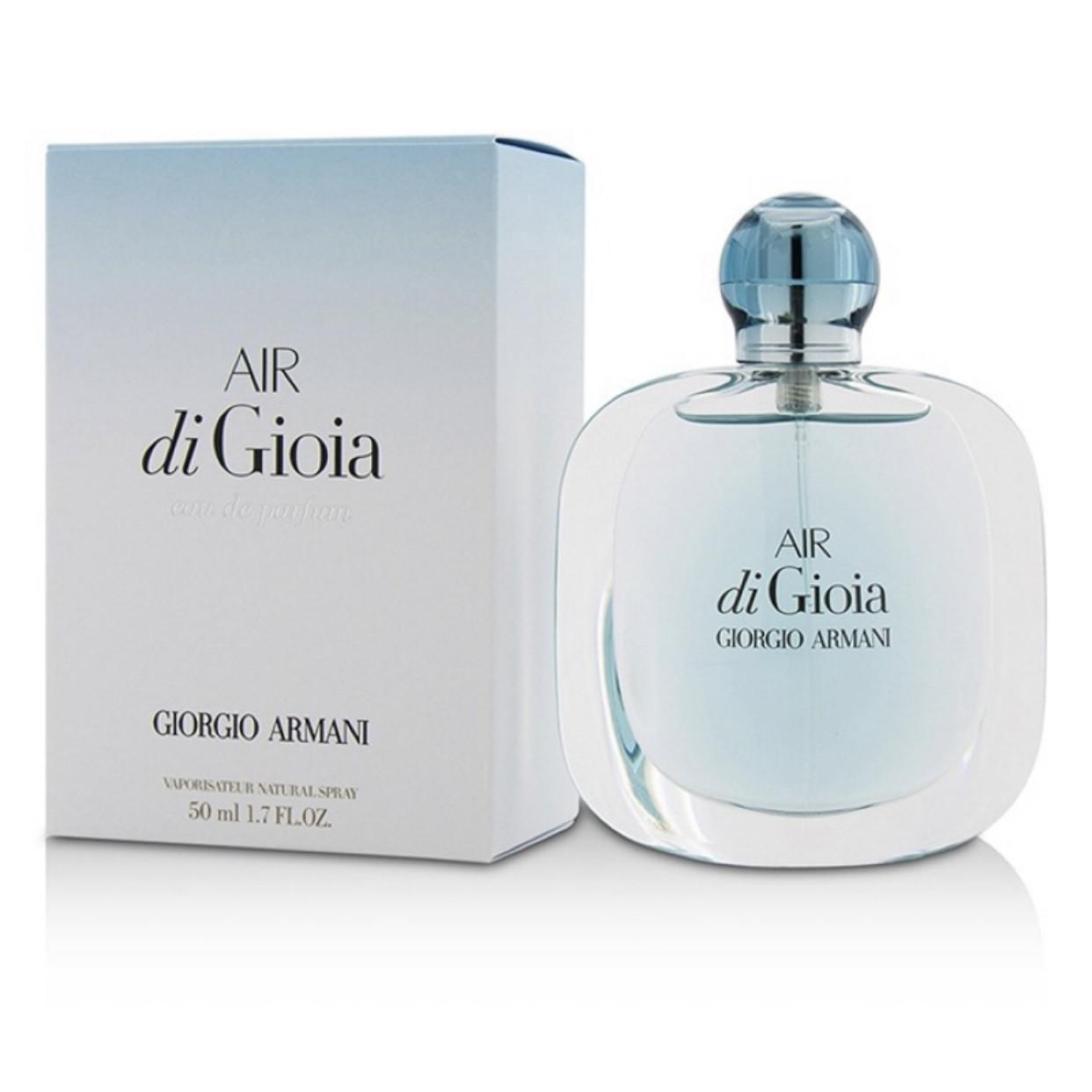Женские духи парфюмрованная вода GIORGIO ARMANI  Air di Gioia 50ml, свежий цветочный древесный аромат ОРИГИНАЛ