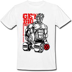 Чоловіча футболка Get Big Fast (біла)