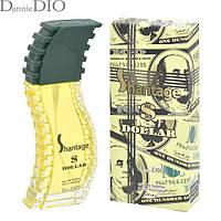 Духи мужские фужерные терпкие с горчинкойотPositive Parfum (Российские)  SHANTAGE DOLLAR 85мл