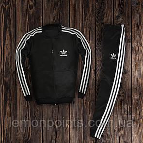 Мужской спортивный костюм с лампасами Adidas (адидас) дайвинг
