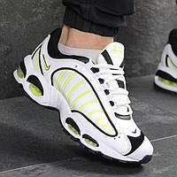 Мужские кроссовки демисезонные Nike Air Max 7690 белые с желтым, фото 1