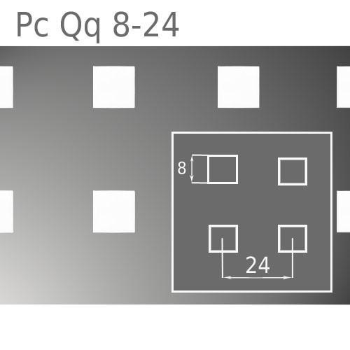Перфорированный лист Pc Qq8-24