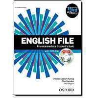 English File 3rd (third) edition Pre - Intermediate Student's Book
