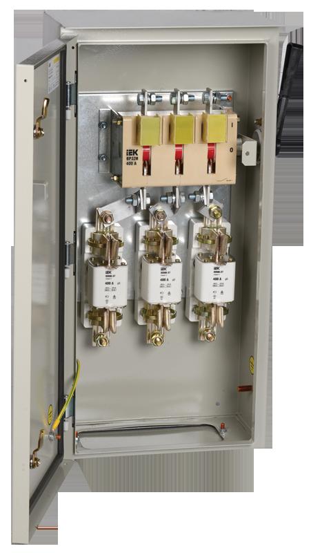 Ящик с рубильником и предохранителями ЯРП-400А 74 У1 IP54 IEK (YARP-400-74-54)
