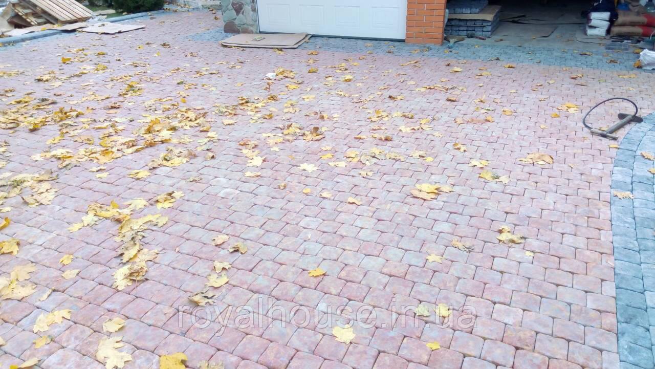 Литая тротуарная плитка 4 см