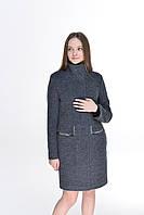 Пальто женское модель 191 синий