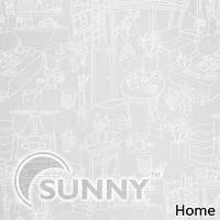 Рулонные шторы для окон в закрытой системе Sunny с плоскими направляющими - ПЛАСТИК, ткань  Home