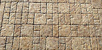 Литая тротуарная плитка Прованс, толщиной 4,5 см